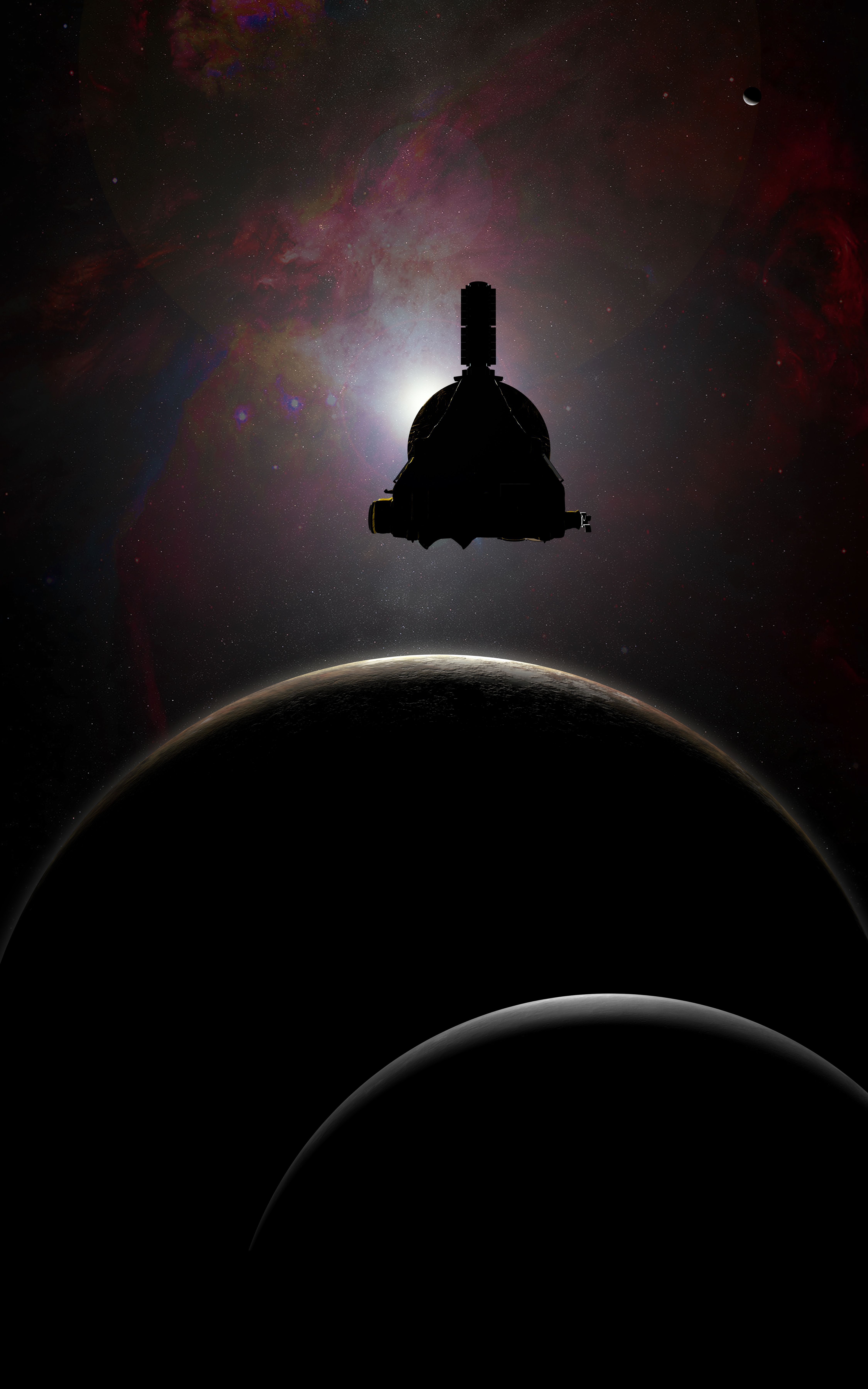 New horizons is still only halfway through its download from pluto.