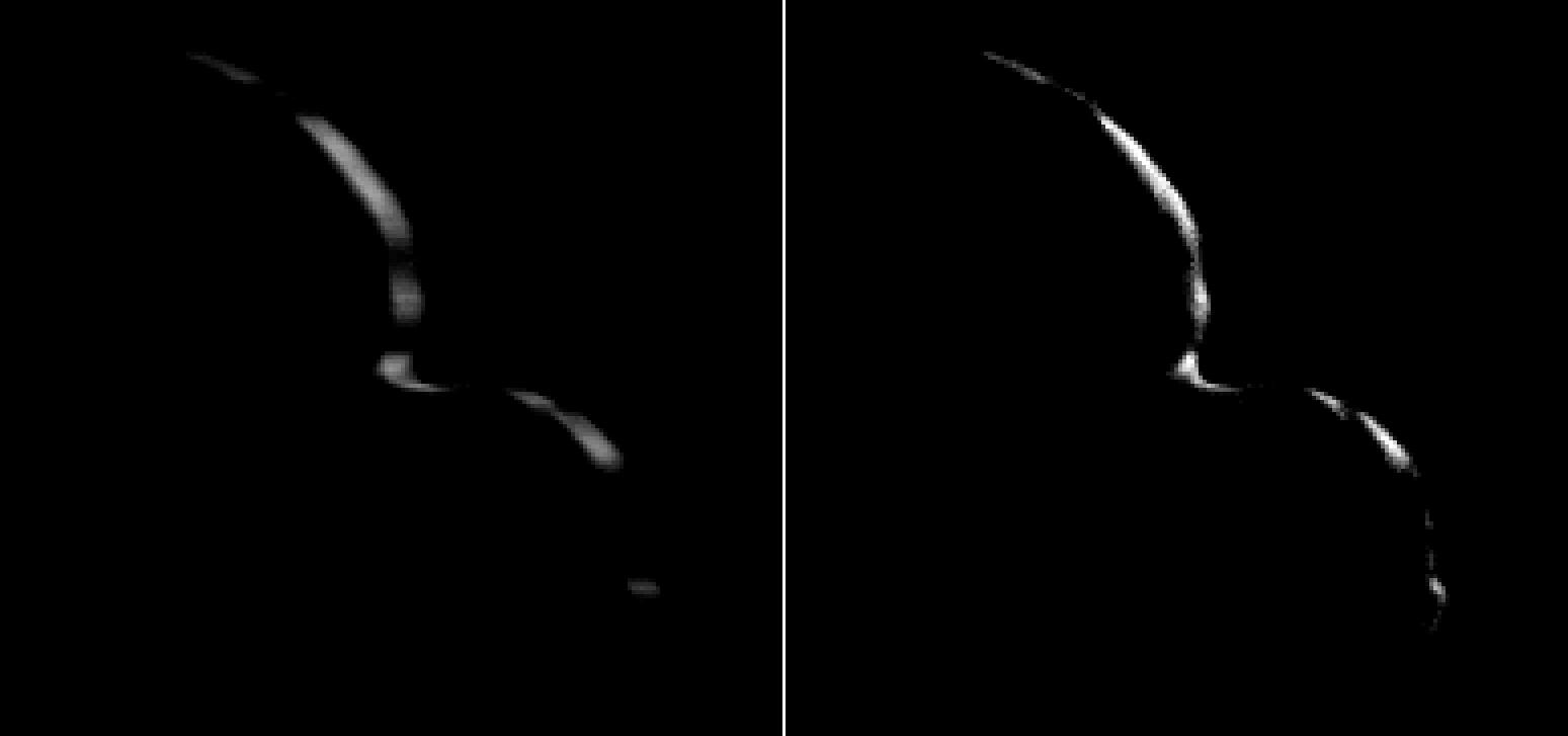 Nové snímky odhalují skutečně podivný tvar planetky Ultima Thule: jedna z jejích částí je placatá