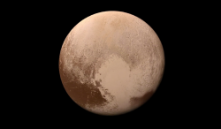 A Colorful 'Landing' on Pluto