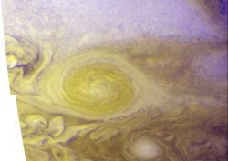 Best Color Image of Jupiter's Little Red Spot