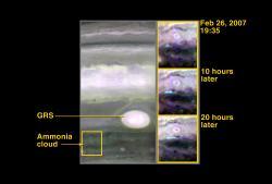 Probing Storm Activity on Jupiter
