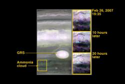 Probing Storm Activity on Jupiter