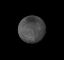 Charon's Chasms and Craters