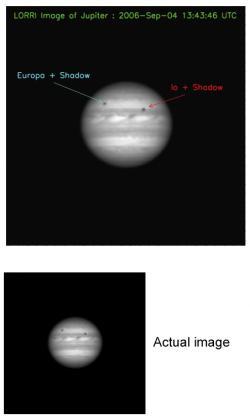 Jupiter Labeled