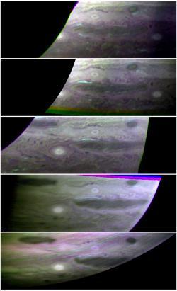 Ammonia Ice Clouds on Jupiter