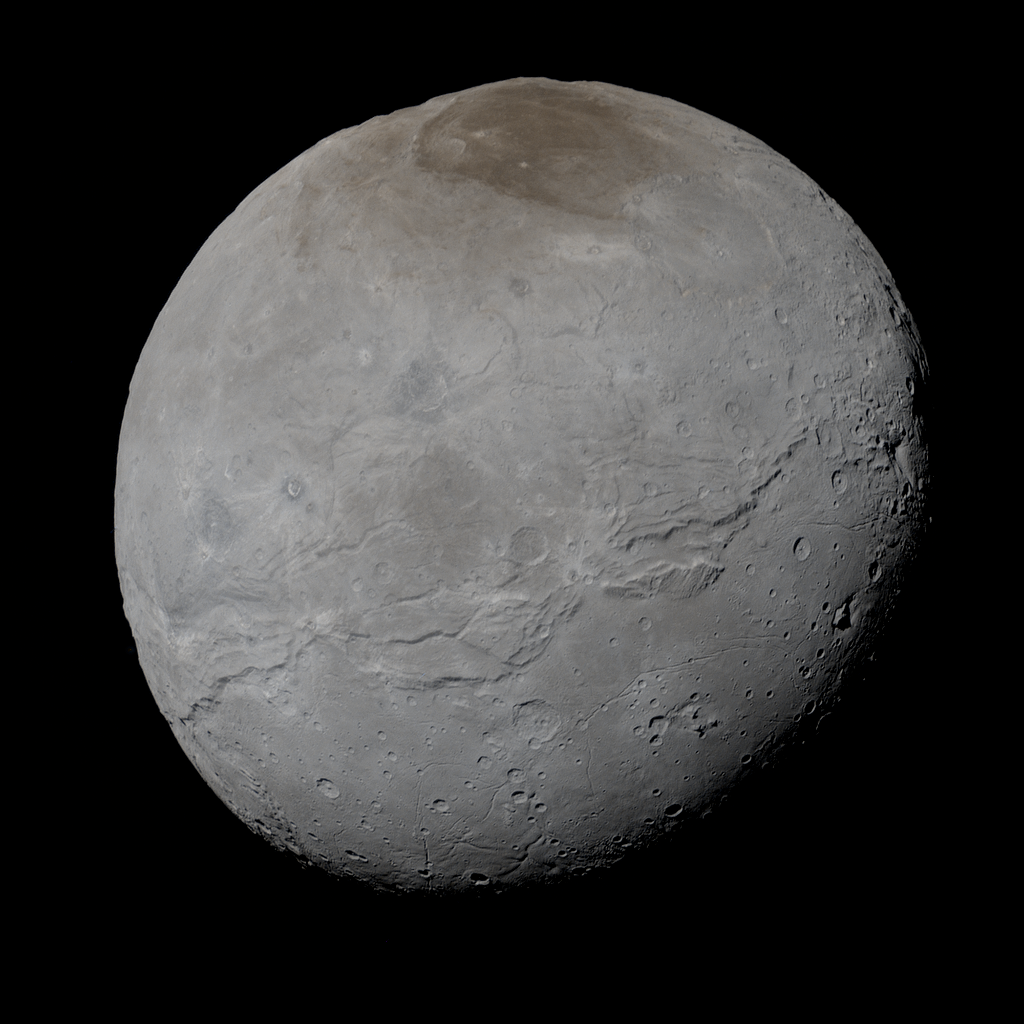 The True Colors of Charon