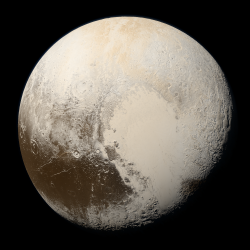 The True Colors of Pluto