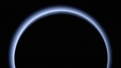 Blue Rays: New Horizons' High-Res Farewell to Pluto