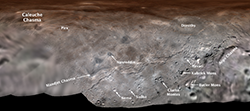 Charon's First Official Feature Names