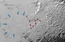 Valley Glaciers on Pluto: