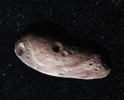 Artist's Concept of 2014 MU69 as a Single Object