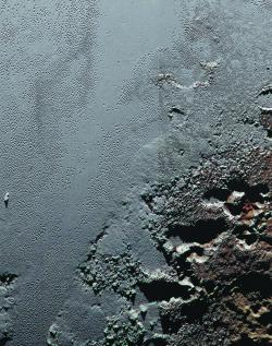 The Jagged Shores of Pluto's Highlands