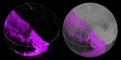 Mapping Pluto's Methane Ice