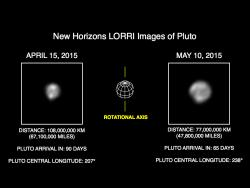 More Detail as New Horizons Draws Closer