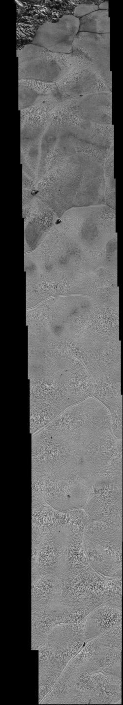 Pluto's Icy Plains Captured in Highest-Resolution Views from New Horizons