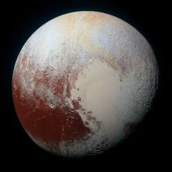 The Rich Color Variations of Pluto