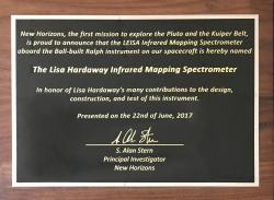 Lisa Hardaway Plaque