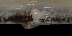 Pluto Surface Feature Names