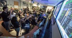 Pluto Flyby: Flight Controllers Celebrate