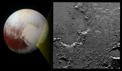Zooming in on Pluto's Pattern of Pits