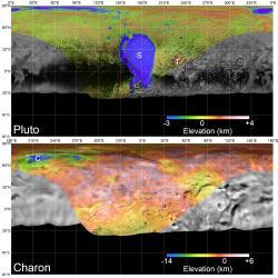 Global Mosaics of Pluto and Charon