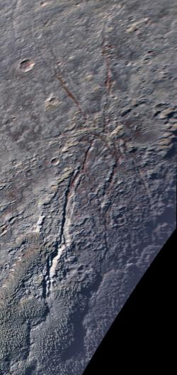The Icy 'Spider' on Pluto