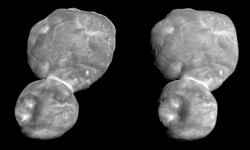 Ultima Thule in Stereo (Cross-Eyed View)