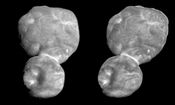 Ultima Thule in Stereo (Parallel View)