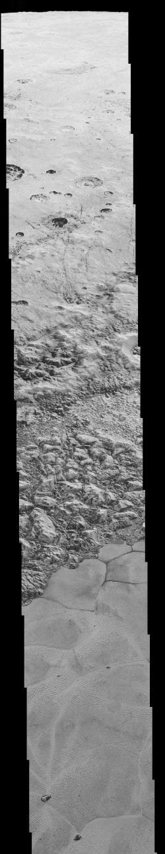 New Horizons' Very Best View of Pluto (Mosiac)
