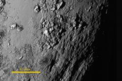 The Icy Mountains of Pluto (annotated)