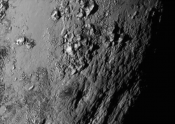 The Icy Mountains of Pluto