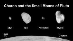 Family Portrait of Pluto's Moons