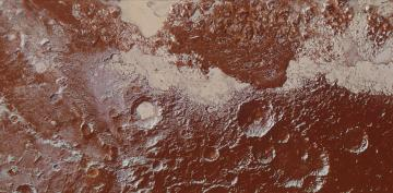 Mountains, Craters and Plains