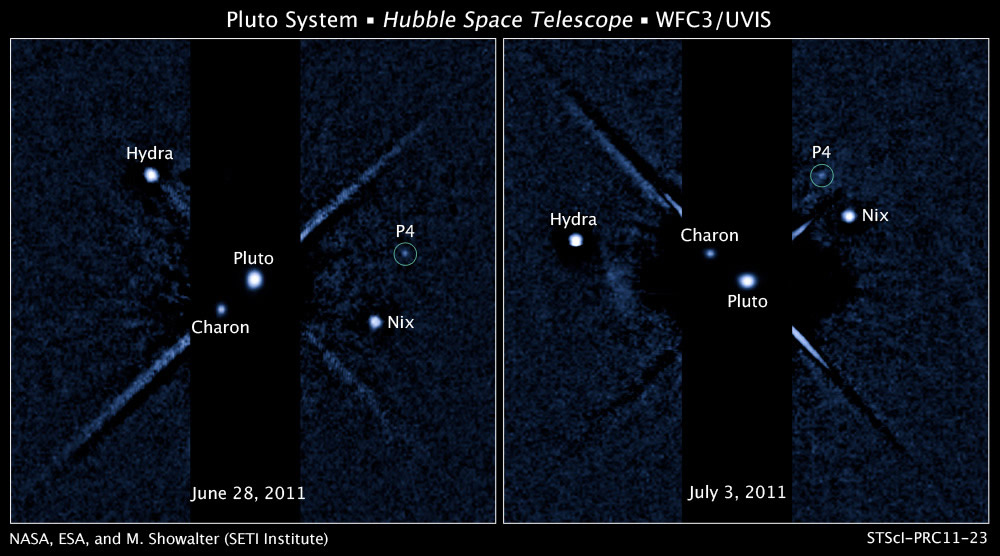 Pluto Moons Nix And Hydra S: New Horizons: News Article?page=20110720