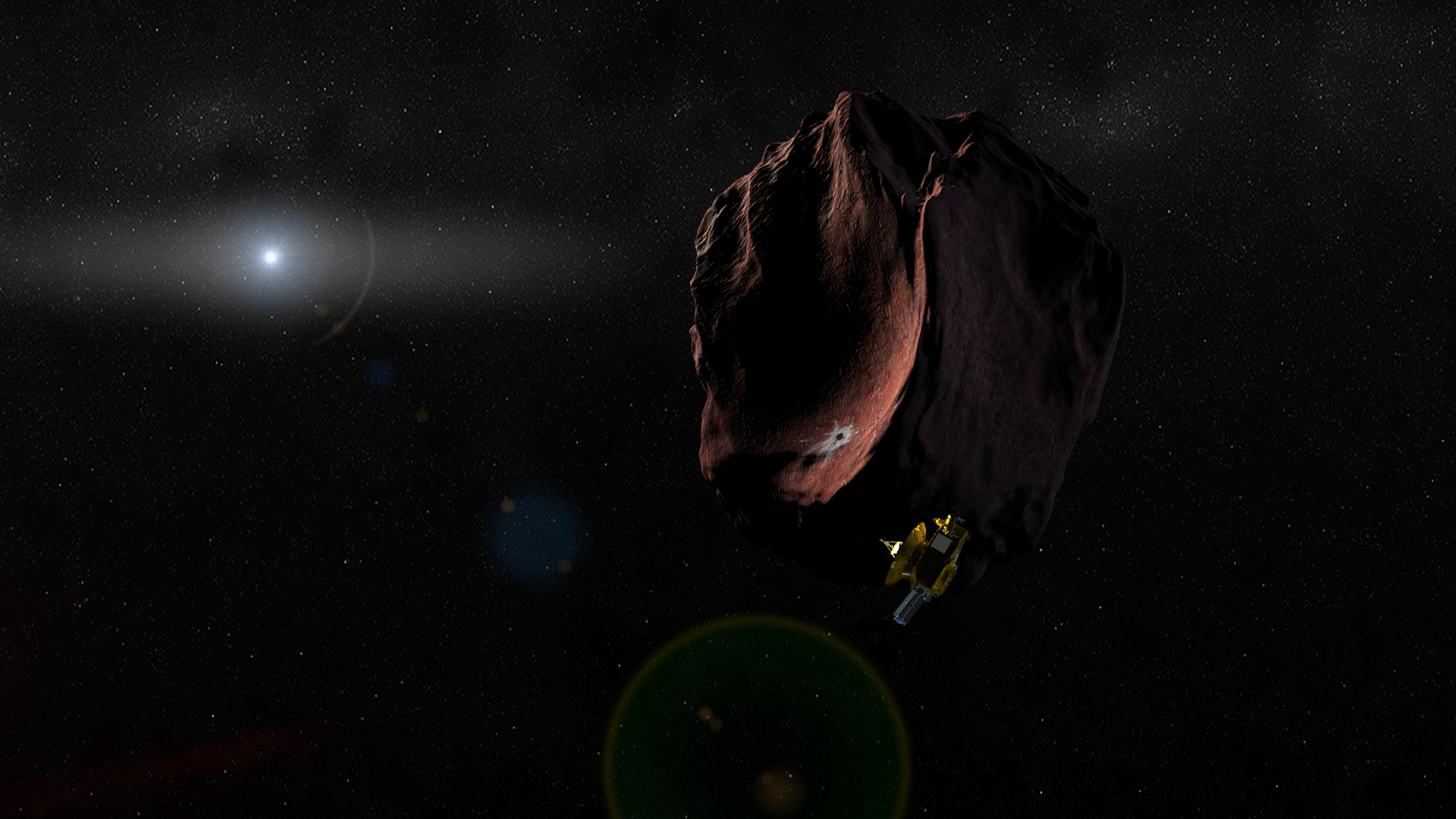 Kerberos Moon Of Plluto